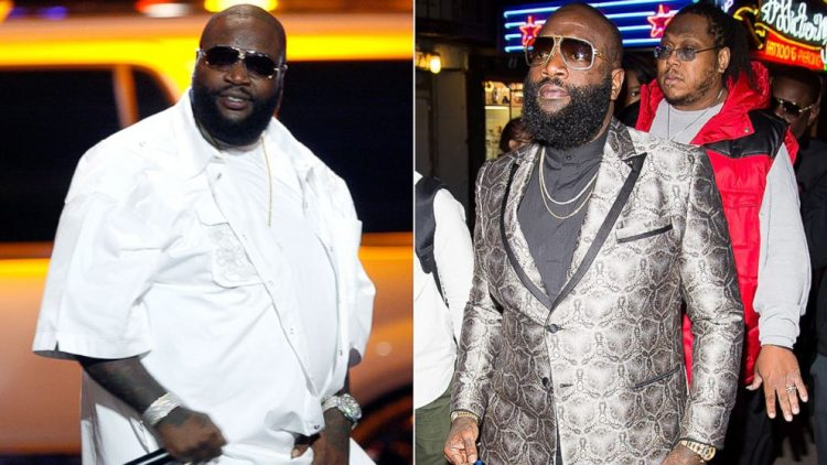Rick Ross Weight Loss Diet before and after photos