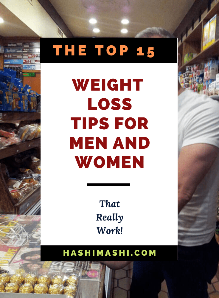 The Top 15 Natural Weight Loss Tips for Men and Women That Work Image Credit HashiMashi.com