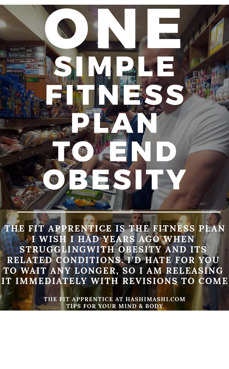 fitness plan the fit apprentice to end obesity and help depression