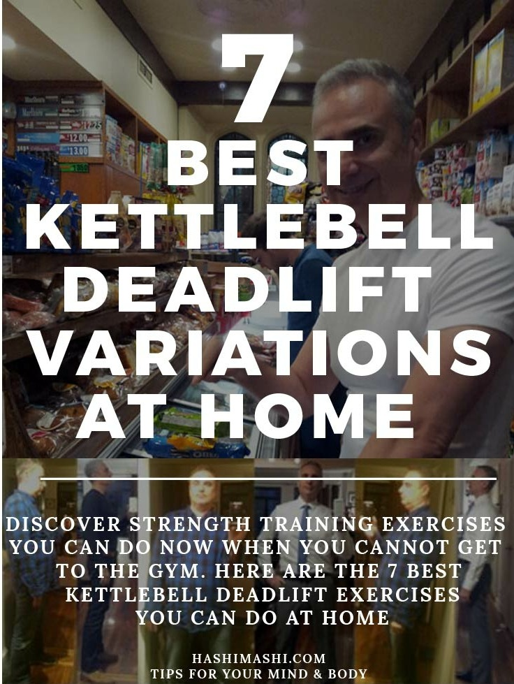 kettlebell deadlift exercise variations you can do at home