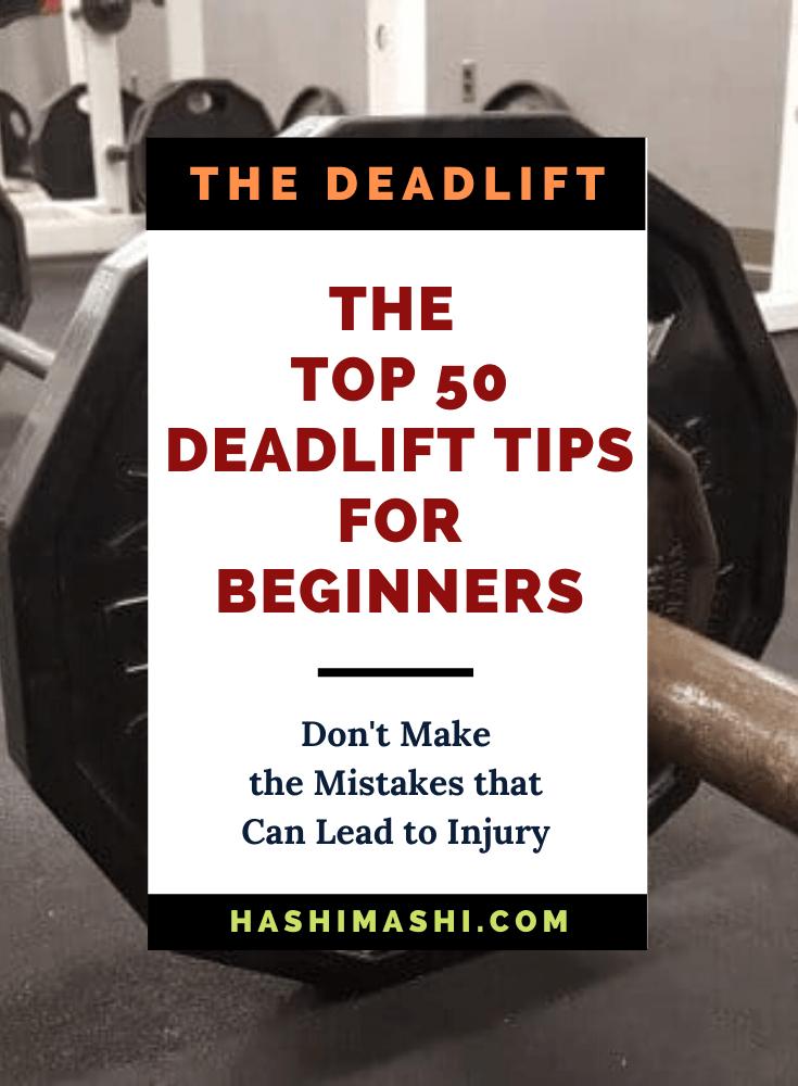 50 Best Deadlift Tips for Beginners Image Credit HashiMashi.com